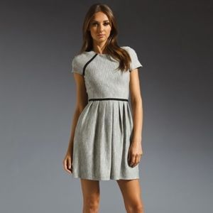 Tibi Herringbone Tweed Knit Dress